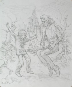 Etude, Jackson 4, Wonderland, 35 x 30 cm