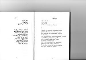 vous c'est vous. poeme Maram el Masri